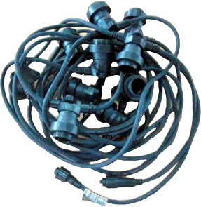 10m B22 spuldžu kabelis (bez starta kabeļa)