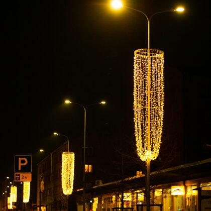 Staba un ielas dekori